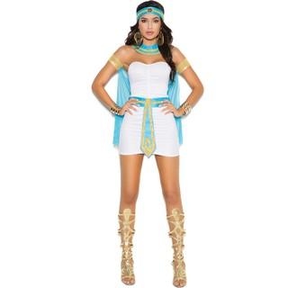 Bộ Đồ Hóa Trang Nữ Thần Cleopatra Quyến Rũ Cho Halloween Cỡ M-xl