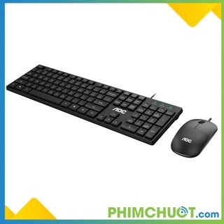 Bộ phím chuột máy tính AOC KM401 thumbnail