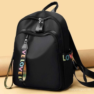 Backpack Oxford cloth backpack fashion leisure large capacity travel school bag