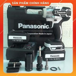 Máy siết bulong Panasonic 118V LỰC SIẾT 550Nm Phụ kiện đi kèm như hình … [HÀNG CHÍNH HÃNG]