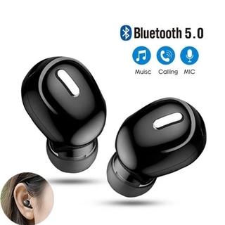 Tai Nghe Nhét Tai Bluetooth 5.0 Âm Thanh Sống Động Cho Samsung / Xiaomi / Oppo