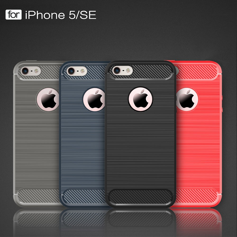 Ốp lưng silicone chống sốc cho iPhone 5 5S SE