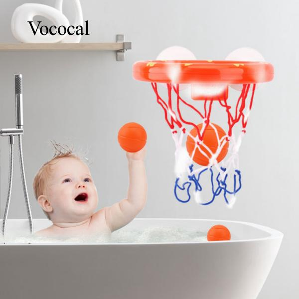 Funny Mini Basketball Shooting Game Toy Set with Hoop Balls Suctions Cup for Kid