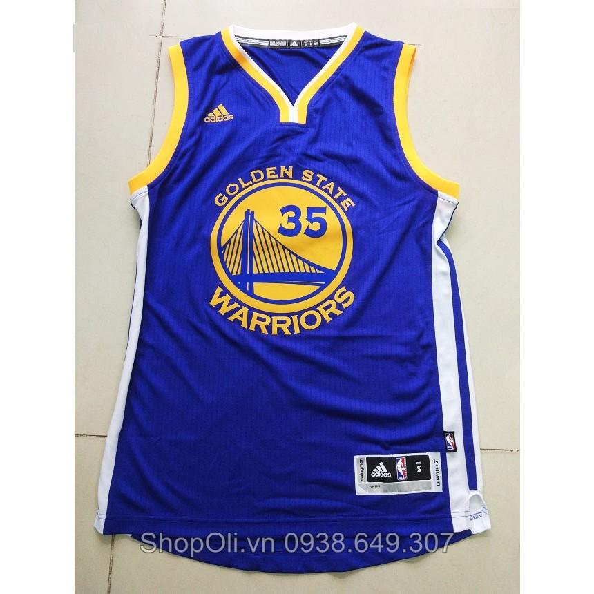 Áo bóng rổ NBA đội Golden State số 35 hàng vnxk xịn