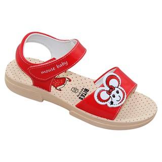 Sandal bé gái Bita s SENGI.37 (Đỏ Tím Vàng)