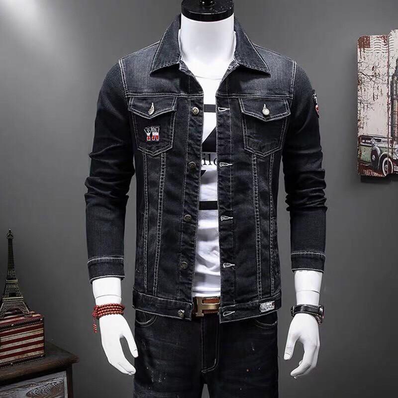[FREESHIP]Áo khoác jean nam thời trang hàn quốc siêu chất cao cấp | Áo khoát jeans nam sành điệu mẫu hot giá rẻ - Áo khoác jeans