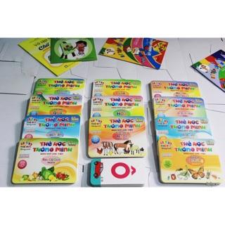 Bộ thẻ to 2 mặt 12x17cm 12 chủ đề