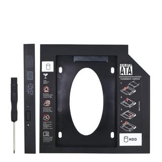 Caddy Bay 9.5mm SSD SATA 3 Nhựa siêu nhẹ và bền bỉ - Khay ổ cứng thay vị trí ổ DVD Hàng chính hãng thumbnail