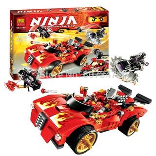 Bộ Xếp Hình Ninja 425pcs 9796 – Xe hơi chiến đấu của Kai