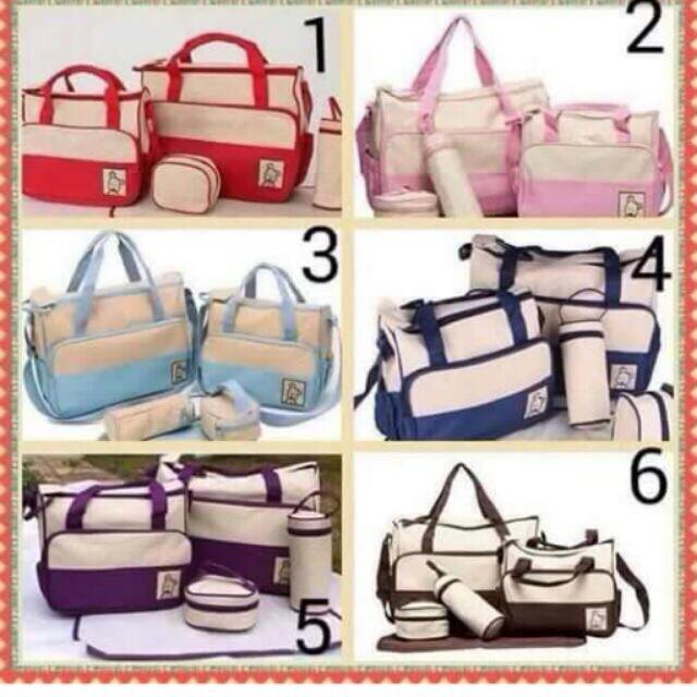 Set túi 5 chi tiết cho mẹ và bé - 13915421 , 79522703 , 322_79522703 , 215000 , Set-tui-5-chi-tiet-cho-me-va-be-322_79522703 , shopee.vn , Set túi 5 chi tiết cho mẹ và bé