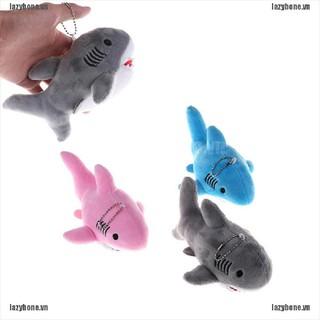 OM 18cm Shark Plush Toy Kawaii Bag Backpack Pendant Keychain Stuffed Animals Toy KS