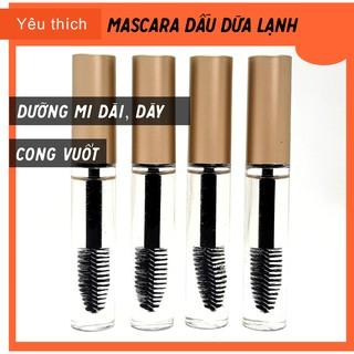 Mascara dầu dừa (kèm ưu đãi) freeship, chi nh hiê u, chuốt mi tự nhiên,dưỡng dài mi,Quê Một Cục thumbnail