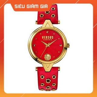 [New 2021] Đồng hồ nữ Versus SCI02 0016 đỏ, dây lỗ Full Box Hàng Authentic thumbnail