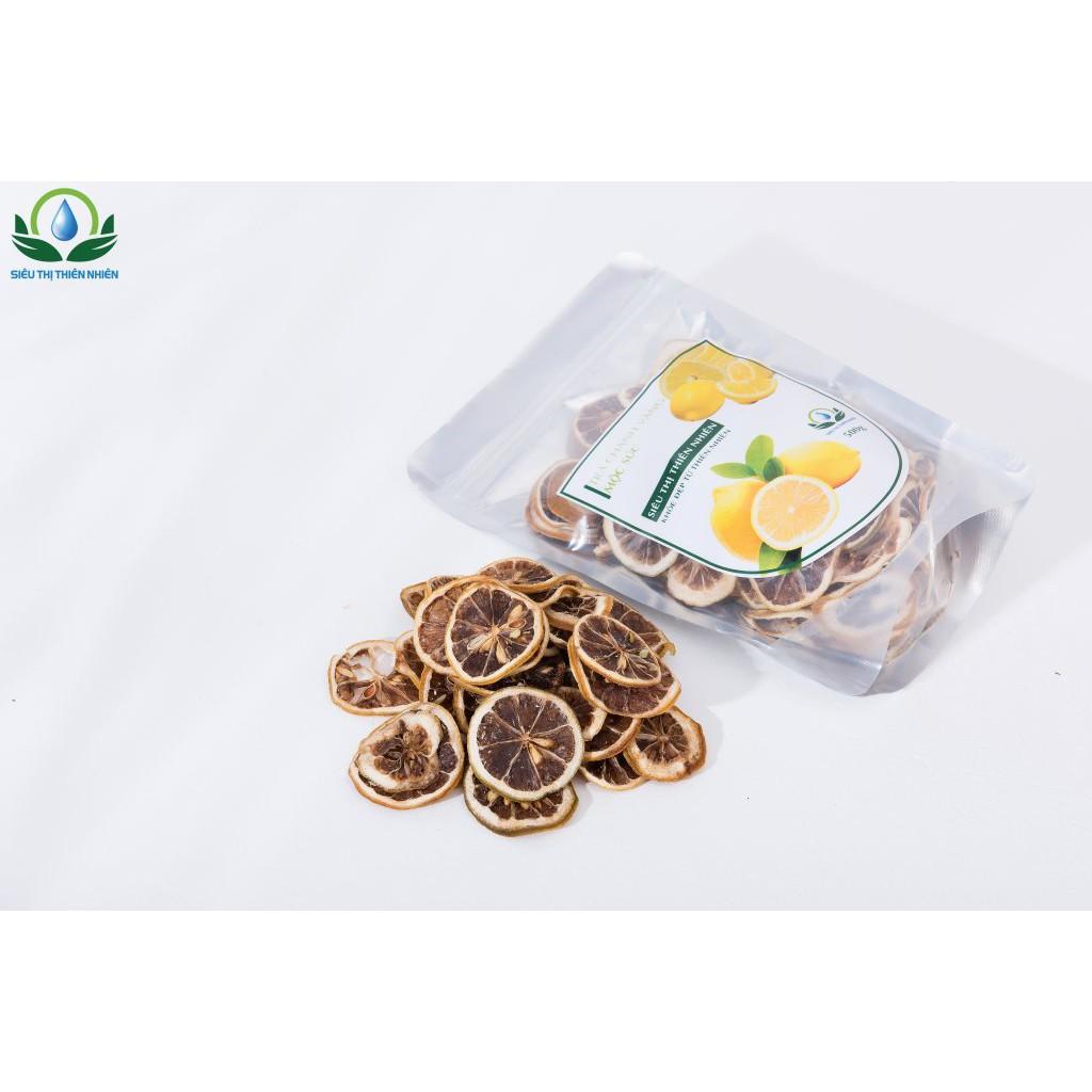 [100% HỮU CƠ] - Trà Chanh vàng thái lát sấy khô mộc gói 100g