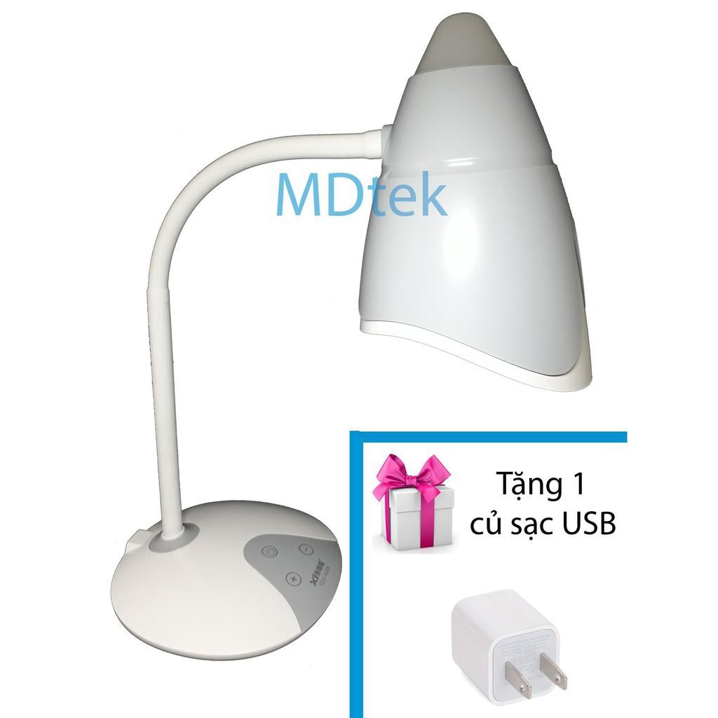 Đèn LED để bàn học tập, làm việc tích điện 2 màu ánh sáng trắng, vàng MDtek A209 + Tặng 1 củ sạc USB (NEW) #MDTEKSHOP - 15153259 , 1802848567 , 322_1802848567 , 205000 , Den-LED-de-ban-hoc-tap-lam-viec-tich-dien-2-mau-anh-sang-trang-vang-MDtek-A209-Tang-1-cu-sac-USB-NEW-MDTEKSHOP-322_1802848567 , shopee.vn , Đèn LED để bàn học tập, làm việc tích điện 2 màu ánh sáng tr