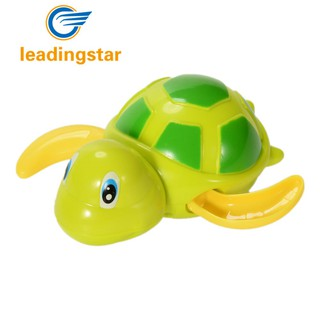 Children Swimming Floating Carton Turtle Bath Tub Pool Play Wind Up Toy Random