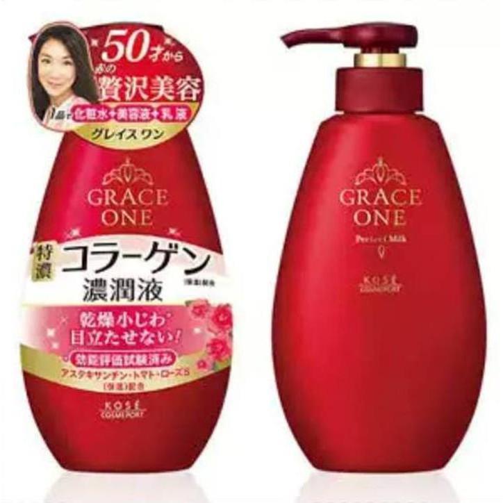 Sữa dưỡng Collagen Kose GRACE ONE Perfect Milk cho phụ nữ trên 50 tuổi . - 2990888 , 655863474 , 322_655863474 , 335000 , Sua-duong-Collagen-Kose-GRACE-ONE-Perfect-Milk-cho-phu-nu-tren-50-tuoi-.-322_655863474 , shopee.vn , Sữa dưỡng Collagen Kose GRACE ONE Perfect Milk cho phụ nữ trên 50 tuổi .