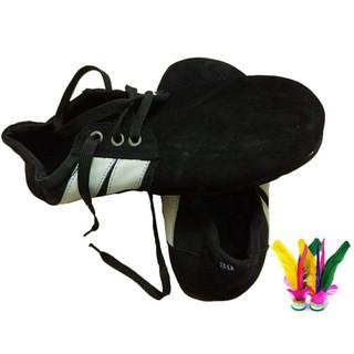 [HÒA VỐN] Giày đá cầu 3 lớp tiêu chuẩn, Giày mỏ vịt đế cao su loại tốt cho dân đá cầu chinh đá phủi