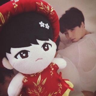 Doll BTS TAEHYUNG và SUGA