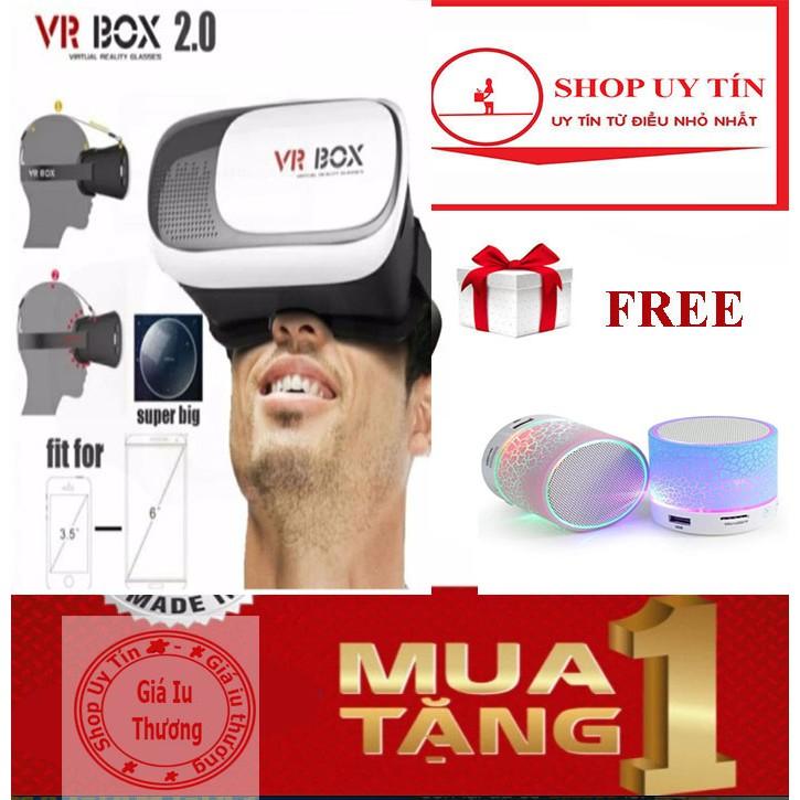 Kính Thực Tế Ảo 3D Vr box Version 2 tặng loa mini bluetooth hld-600 led nháy theo nhạc (Trắng) - 10066609 , 380471415 , 322_380471415 , 119000 , Kinh-Thuc-Te-Ao-3D-Vr-box-Version-2-tang-loa-mini-bluetooth-hld-600-led-nhay-theo-nhac-Trang-322_380471415 , shopee.vn , Kính Thực Tế Ảo 3D Vr box Version 2 tặng loa mini bluetooth hld-600 led nháy theo
