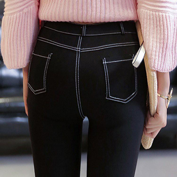 Quần legging lưng cao màu đen - 14934818 , 2787842825 , 322_2787842825 , 248300 , Quan-legging-lung-cao-mau-den-322_2787842825 , shopee.vn , Quần legging lưng cao màu đen