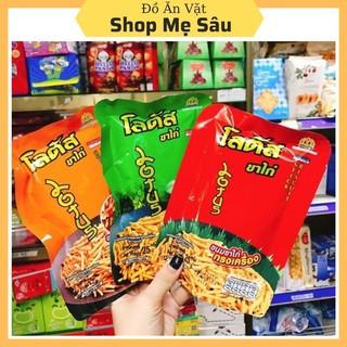 Gói 25g Snack Tăm Thái 💖FREESHIP💖 Bim Bim Que Thái Lan Các Vị