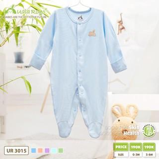 Body UalaRogo liền chân lộn tay Bamboo Suit tay dài cho bé trai, bé gái Uala Rogo body áo liền quần cho trẻ sơ sinh