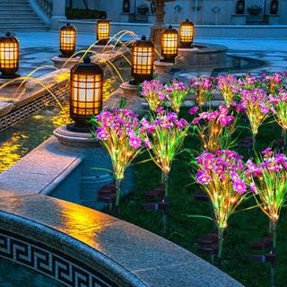 Đèn Led Năng Lượng Mặt Trời Thông Minh Chống Thấm Nước Cho Sân Vườn