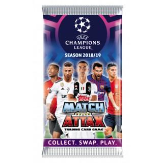 Pack Thẻ Cầu Thủ/Thẻ Bóng Đá Match Attax Champions League 2018/2019 – Hàng Chính Hãng Còn Nguyên Seal!