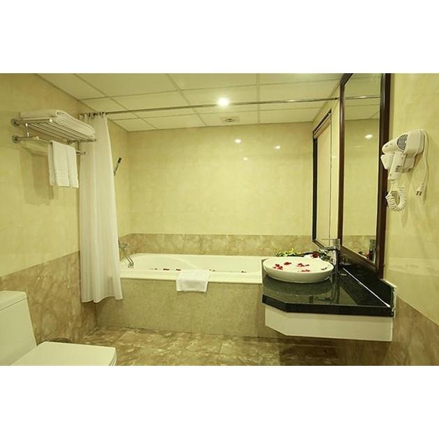 Hà Nội [Voucher] - Phòng Junior Suite Double Twin Khách sạn Delight Hà Nội 2N1Đ
