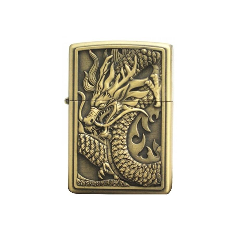 Bật Lửa Mình Rồng Cá Tính (Đồng)