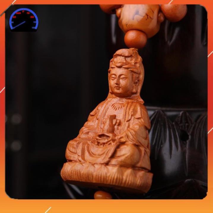 ⚡️Freeship 99k - Toàn quốc⚡️Dây treo xe Phong thủy Handmade Gỗ Gụ