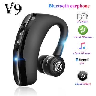【COD】Tai Nghe V9 Không Dây Bluetooth 4.1, Tai Nghe Nhét Tai Rảnh Tay Tai Nghe Doanh Nhân, Tai Nghe Giảm Tiếng Ồn Có Mic Dành Cho Android