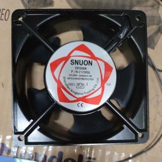 Quạt máy hàn – quạt thông gió 220v kích thước 12 x 12 cm