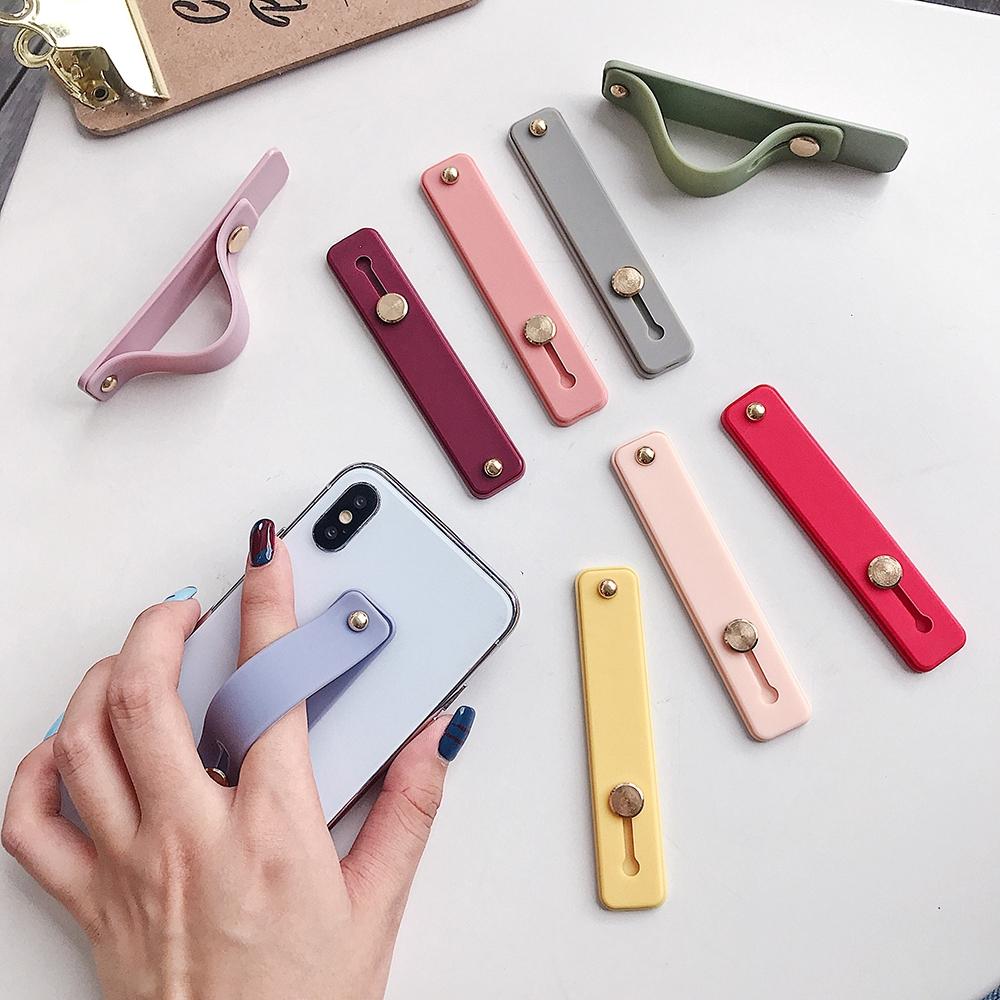 Băng đeo tay bằng silicon làm giá đỡ điện thoại tiện dụng chất lượng cao