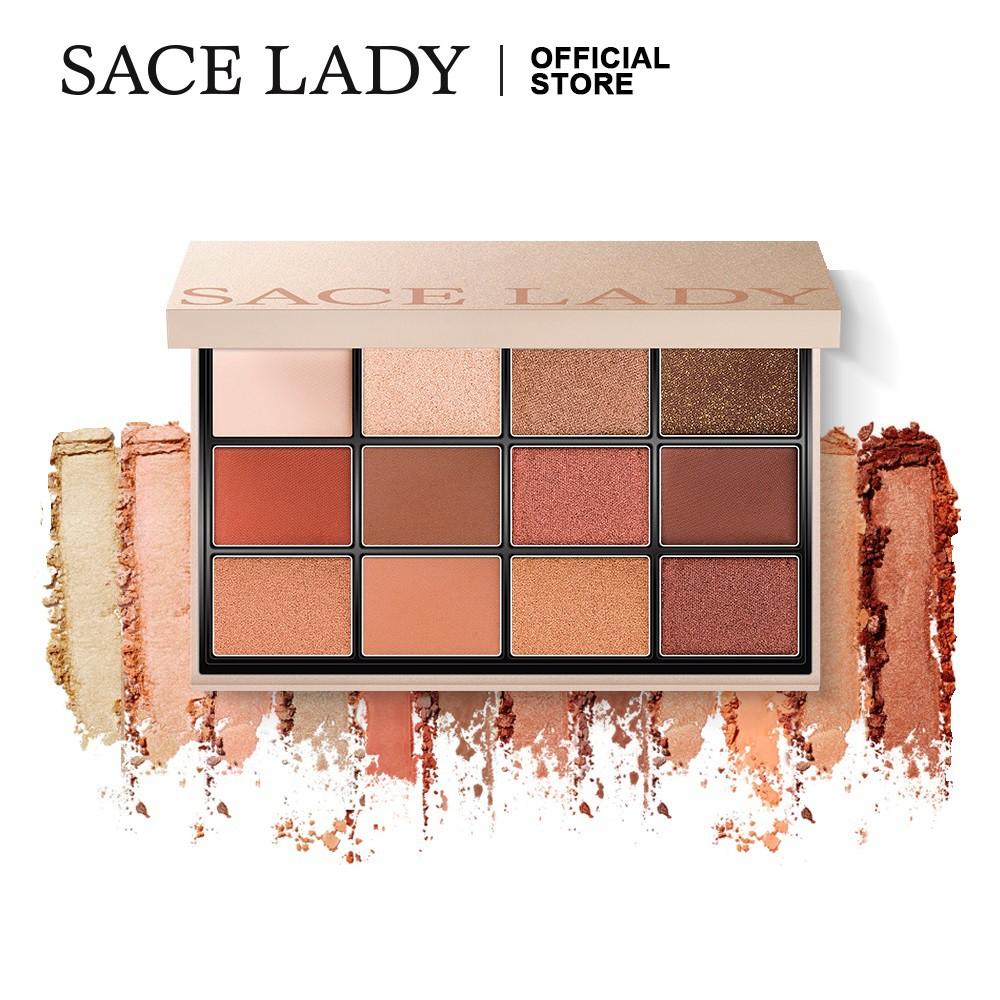 Bảng phấn trang điểm mắt SACE LADY với nhiều tông màu hợp thời trang 55g