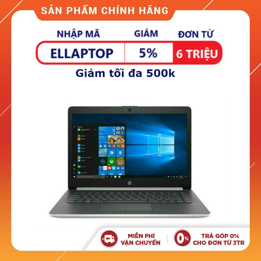 Laptop chính hãng HP 14 Inch 14-ck1004TU 5QH84PA I5-8265U (Bạc)