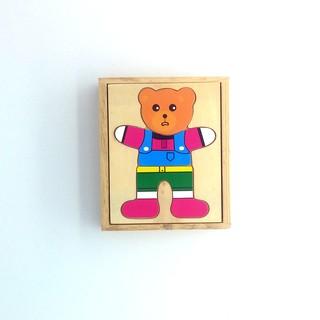 Bộ đồ chơi thay trang phục cho gấu