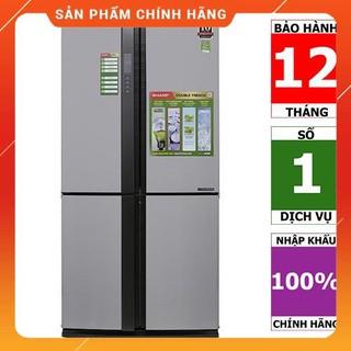 [BMART] SJ-FX680V-ST | SJ-FX680V-WH | Tủ lạnh 4 cửa Sharp Inverter 678 lít (Hàng chính hãng, bảo hành 12 tháng)