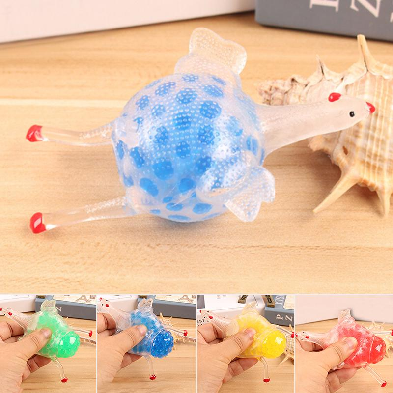 AU 2018 Creative Chick Laying Hen Toy W/ Colorful Beads Tricky Decompression Toy