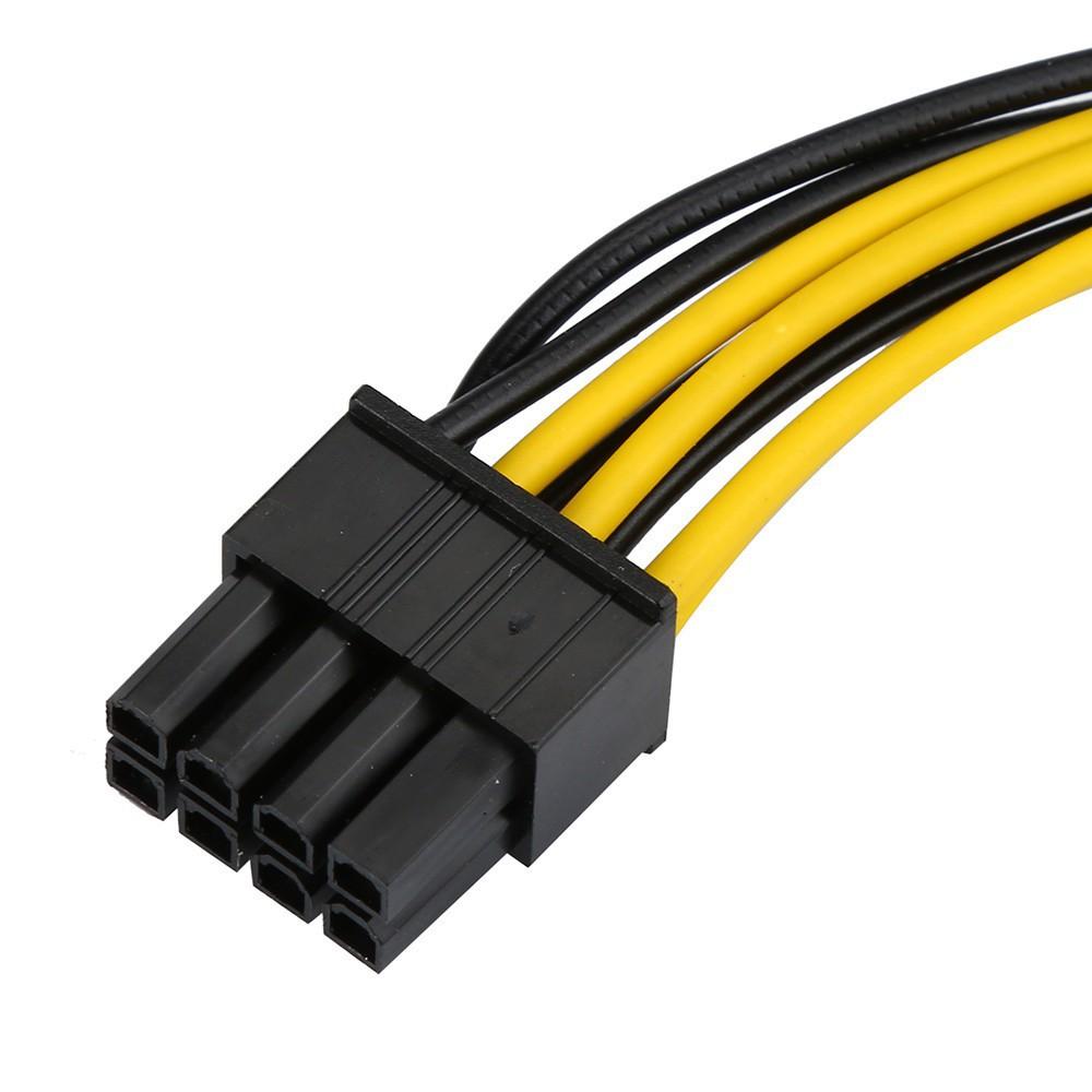 Cáp chuyển 6 pin sang 8 pin PCI cho card / GPU- Chất lượng cao