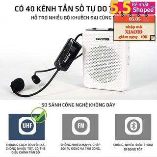 (FREESHIP)TẶNG CÁP IPHONE Loa máy trợ giảng không dây Takstar E300W