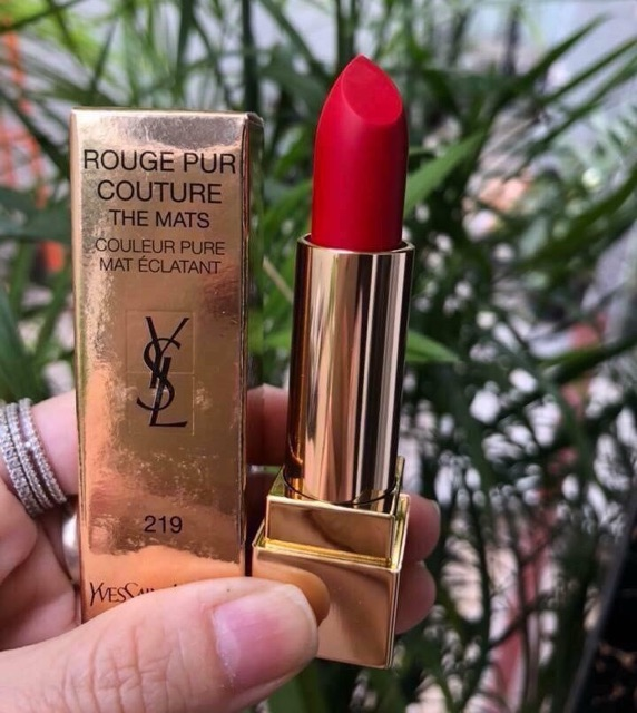 SON THỎI YSL ROUGE PUR COUTURE #219 | Shopee Việt Nam