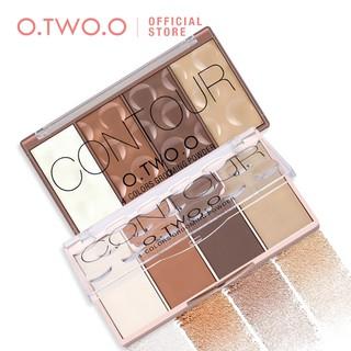 Bảng phấn bắt sáng O.TWO.O 4 màu tạo đường viền thời trang 75g thumbnail