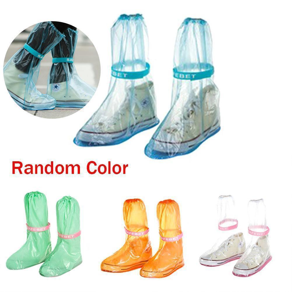 Bao giày đi mưa chống thấm nước, chống trượt, có thể sử dụng lại