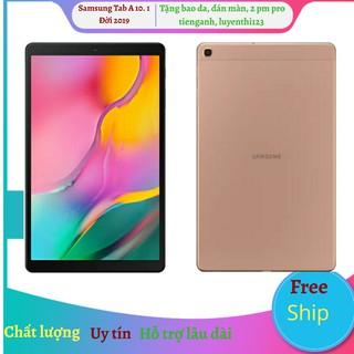 Máy tính bảng Samsung Galaxy Tab A 10.1 đời 2019 tặng đế dựng, 2 pm tienganh, luyenthi123 pro( có 2 phiên bản wifi và 4g