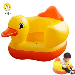 WiJx❤❤❤Summer Korean Multifunctional Inflatable Duck Toys Eco-friendly Wear-resistant Ergonomic Baby Toy @VN