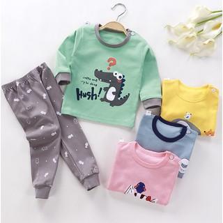[Mã FASHION1212B hoàn 100K xu đơn 350K] Set bộ quần áo thu đông cho bé trai bé gái (7 - 25kg) VEMZKIDS 8 mẫu thumbnail
