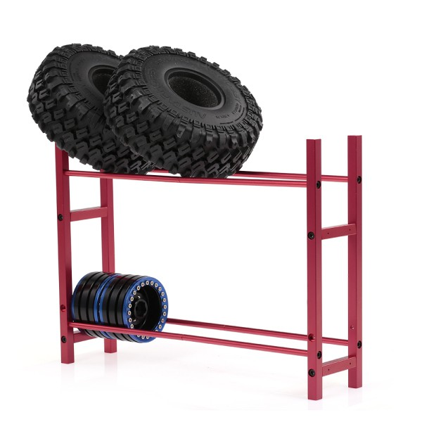 1/10 Scale 1.9 2.2 Wheel Rim Tire Storage Rack for RC Crawler Traxxas TRX-4