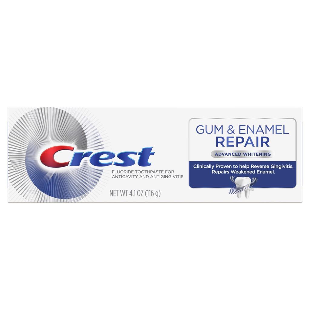 kem đánh răng crest gum enamel repair